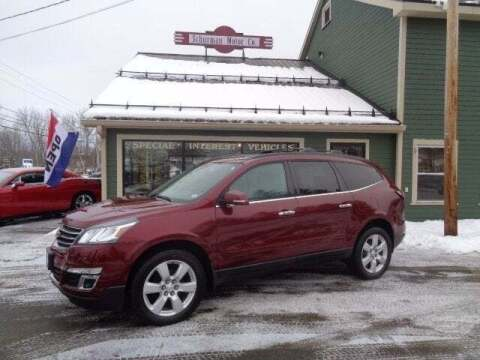 2016 Chevrolet Traverse for sale at SCHURMAN MOTOR COMPANY in Lancaster NH