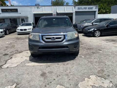 2010 Honda Pilot for sale at America Auto Wholesale Inc in Miami FL