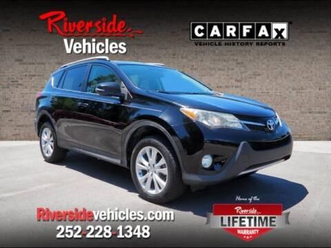 2013 Toyota RAV4 for sale at Riverside Mitsubishi(New Bern Auto Mart) in New Bern NC