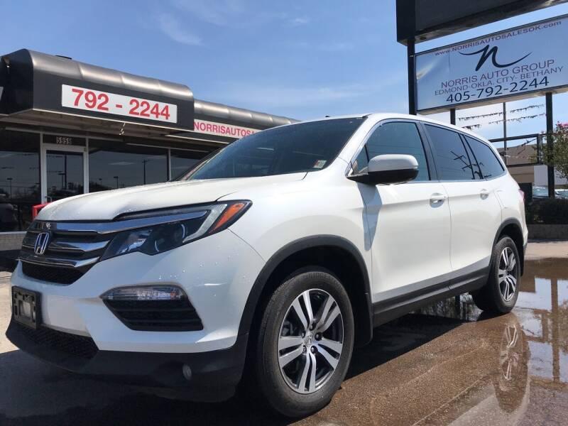 2017 Honda Pilot for sale at NORRIS AUTO SALES in Oklahoma City OK