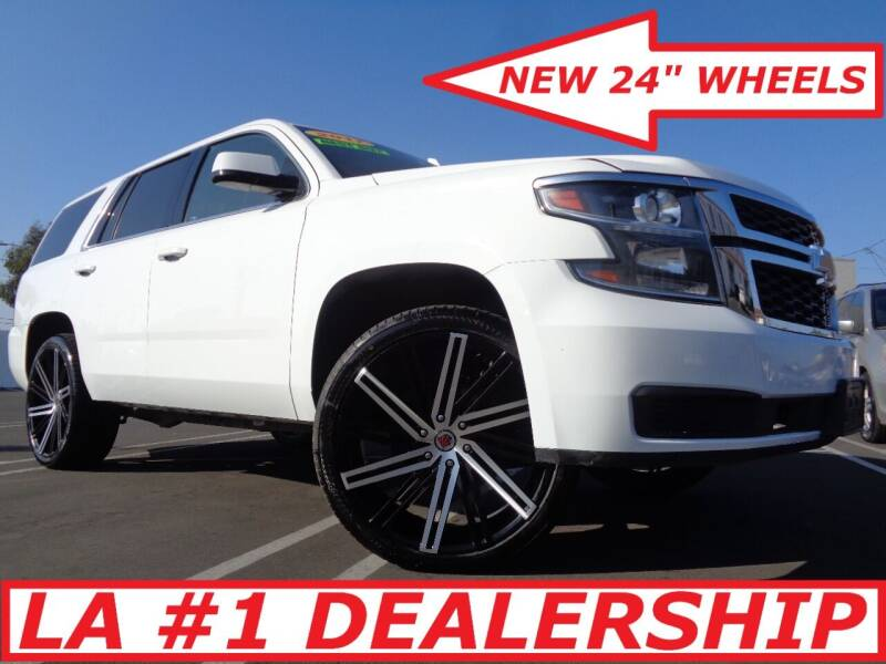 2017 Chevrolet Tahoe for sale at ALL STAR TRUCKS INC in Los Angeles CA
