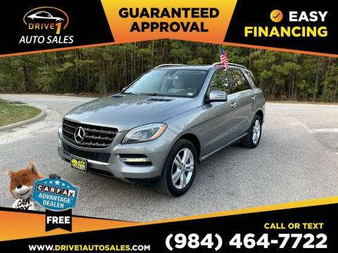 2014 Mercedes-Benz M-Class for sale at Drive 1 Auto Sales in Wake Forest NC