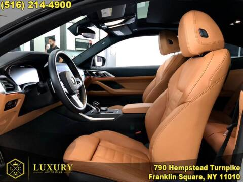 2021 BMW 4 Series for sale at LUXURY MOTOR CLUB in Franklin Square NY
