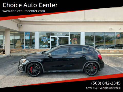 2015 Mercedes-Benz GLA for sale at Choice Auto Center in Shrewsbury MA