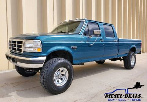 1995 Ford F-350 for sale at DIESEL DEALS in Salt Lake City UT