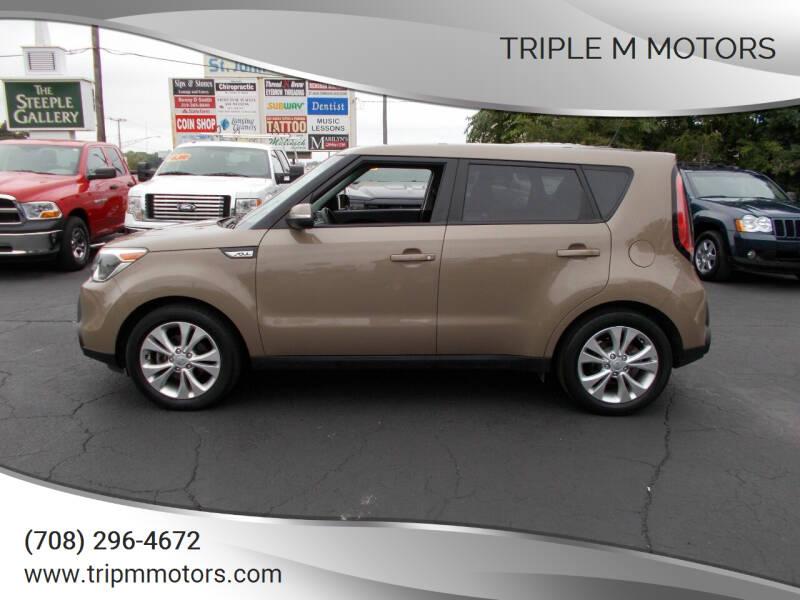 2014 Kia Soul for sale at Triple M Motors in Saint John IN