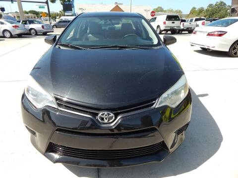 2015 Toyota Corolla for sale at Auto Outlet of Sarasota in Sarasota FL
