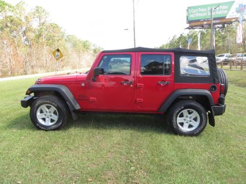 2014 Jeep Wrangler Unlimited for sale at Ward's Motorsports in Pensacola FL