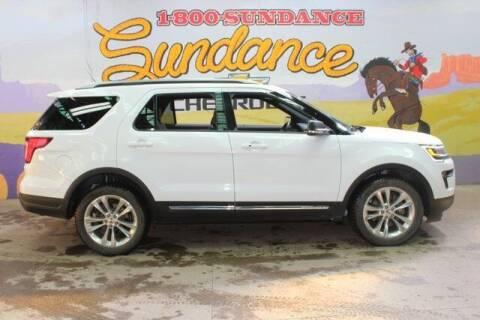 2019 Ford Explorer for sale at Sundance Chevrolet in Grand Ledge MI