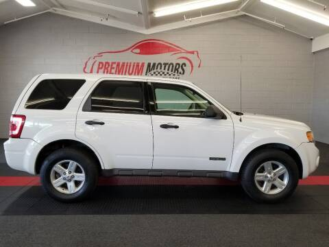 2008 Ford Escape Hybrid for sale at Premium Motors in Villa Park IL