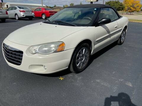2006 Chrysler Sebring for sale at Hill Motors in Ortonville MN