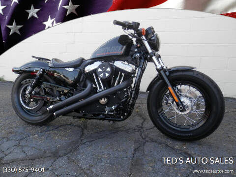 2012 HARLEY DAVIDSON XL1200 for sale at Ted's Auto Sales in Louisville OH