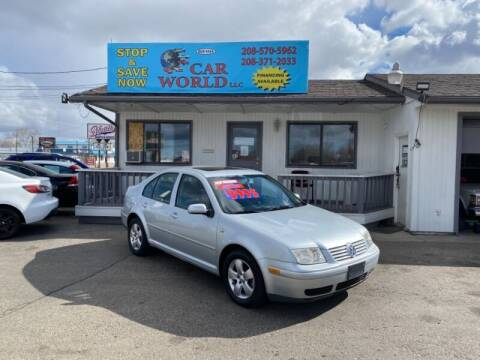 2003 Volkswagen Jetta for sale at CAR WORLD in Nampa ID