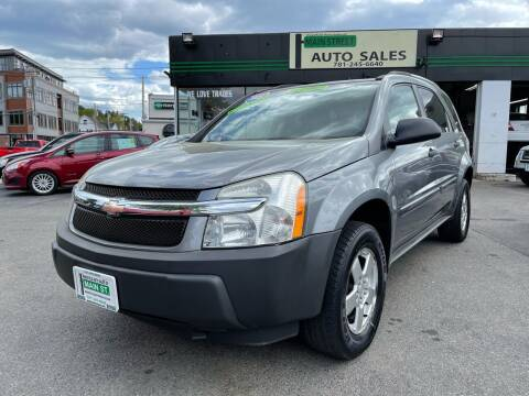 2005 Chevrolet Equinox for sale at Wakefield Auto Sales of Main Street Inc. in Wakefield MA