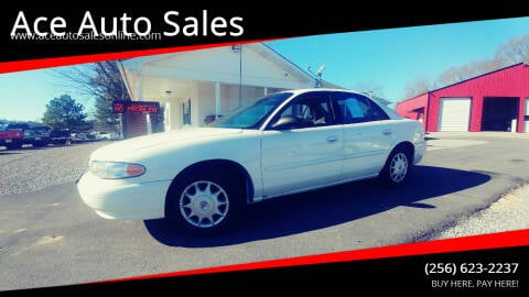 2003 Buick Century for sale at Ace Auto Sales - $800 DOWN PAYMENTS in Fyffe AL