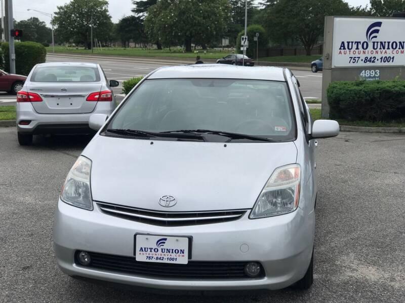 2007 Toyota Prius for sale at Auto Union LLC in Virginia Beach VA