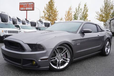 2014 Ford Mustang for sale at Frontier Auto & RV Sales in Anchorage AK