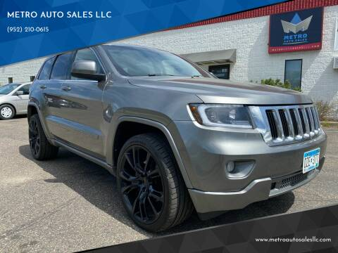 2012 Jeep Grand Cherokee for sale at METRO AUTO SALES LLC in Blaine MN