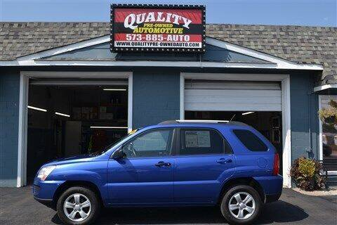 2009 Kia Sportage for sale at Quality Pre-Owned Automotive in Cuba MO