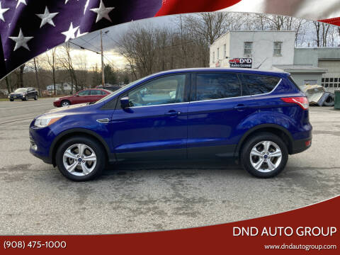 2016 Ford Escape for sale at DND AUTO GROUP in Belvidere NJ