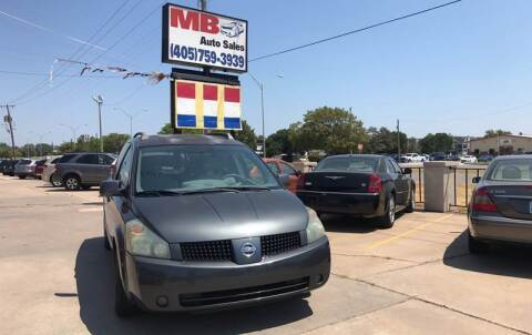 2006 Nissan Quest for sale at MB Auto Sales in Oklahoma City OK