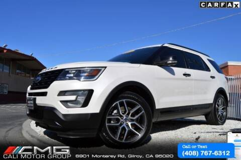 2017 Ford Explorer for sale at Cali Motor Group in Gilroy CA