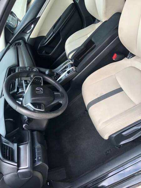 2016 Honda Civic LX 4dr Sedan CVT - Newark NJ