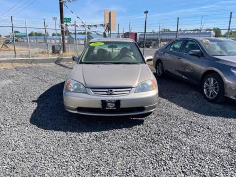 2002 Honda Civic for sale at Velascos Used Car Sales in Hermiston OR