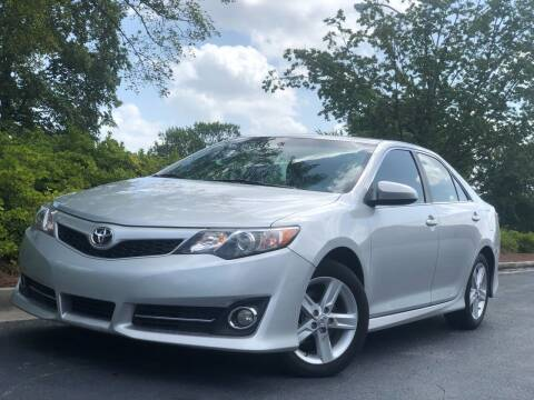 2013 Toyota Camry for sale at William D Auto Sales in Norcross GA