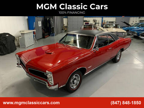1966 Pontiac GTO for sale at MGM CLASSIC CARS in Addison, IL