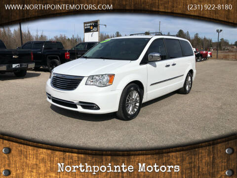 2015 Chrysler Town and Country for sale at Northpointe Motors in Kalkaska MI