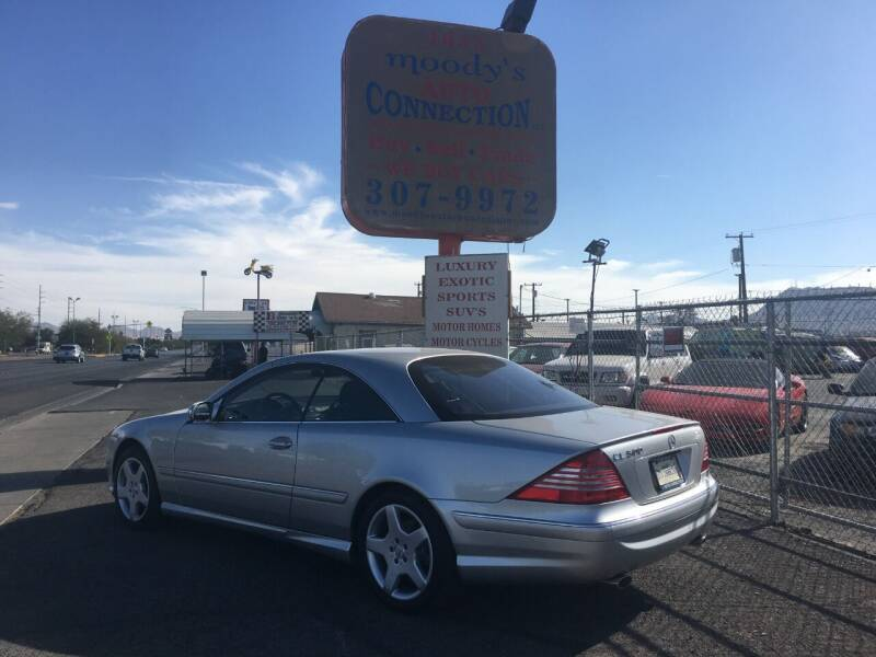 2003 Mercedes-Benz CL-Class for sale at Moody's Auto Connection LLC in Henderson NV
