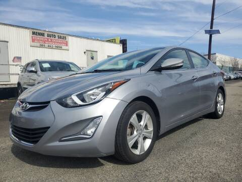 2016 Hyundai Elantra for sale at MENNE AUTO SALES in Hasbrouck Heights NJ