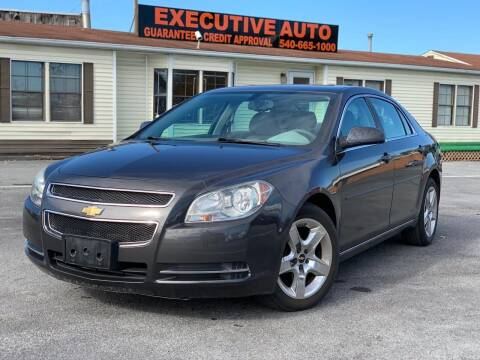 2010 Chevrolet Malibu for sale at Executive Auto in Winchester VA