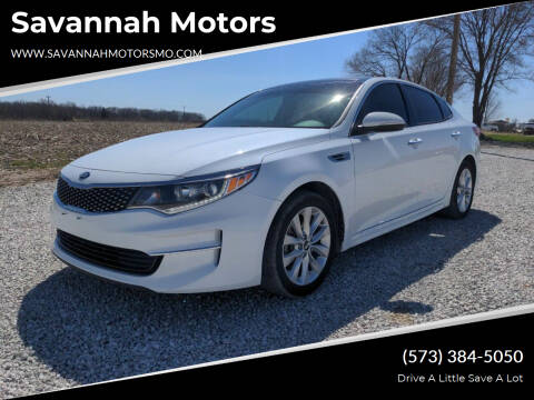 2018 Kia Optima for sale at Savannah Motors in Elsberry MO