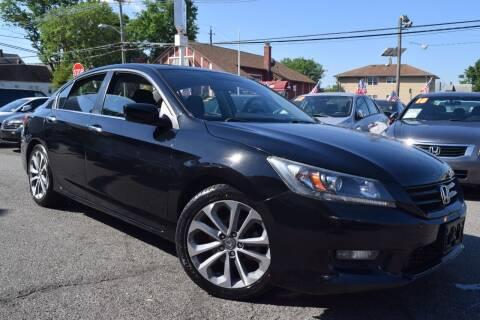 2014 Honda Accord for sale at VNC Inc in Paterson NJ