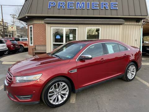 2014 Ford Taurus for sale at Premiere Auto Sales in Washington PA