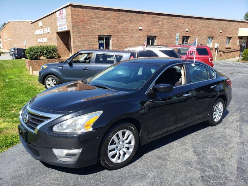 2013 Nissan Altima for sale at ARA Auto Sales in Winston-Salem NC