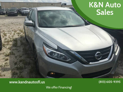 2018 Nissan Altima for sale at K&N Auto Sales in Tampa FL