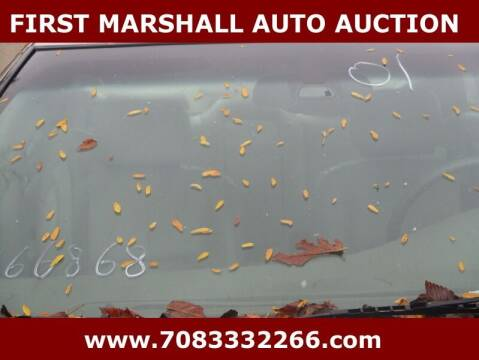 2001 Cadillac Seville for sale at First Marshall Auto Auction in Harvey IL