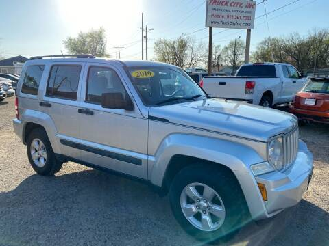 2010 Jeep Liberty for sale at Truck City Inc in Des Moines IA