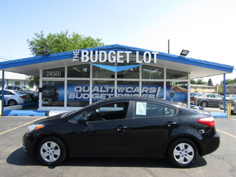 2016 Kia Forte for sale at THE BUDGET LOT in Detroit MI