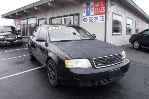 2003 Audi A6 for sale at 777 Auto Sales and Service in Tacoma WA