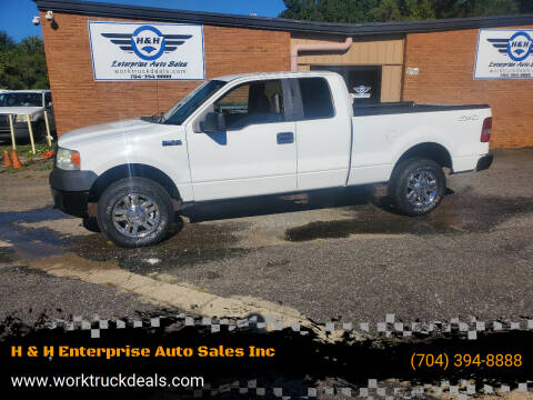2008 Ford F-150 for sale at H & H Enterprise Auto Sales Inc in Charlotte NC