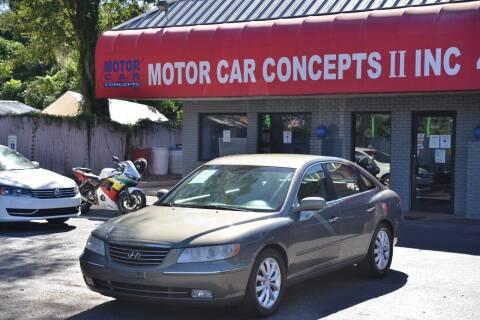 2006 Hyundai Azera for sale at Motor Car Concepts II - Apopka Location in Apopka FL