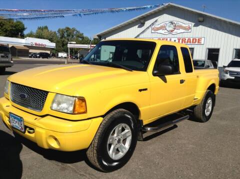 2002 Ford Ranger for sale at Steves Auto Sales in Cambridge MN