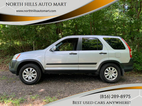 2005 Honda CR-V for sale at NORTH HILLS AUTO MART in Kansas City MO