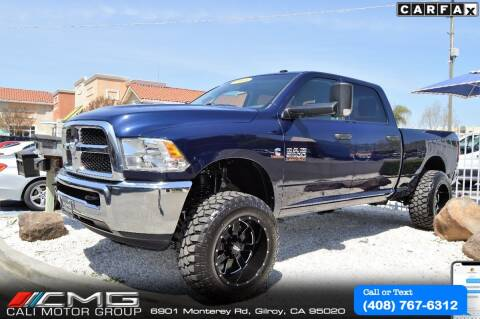 2018 RAM Ram Pickup 2500 for sale at Cali Motor Group in Gilroy CA