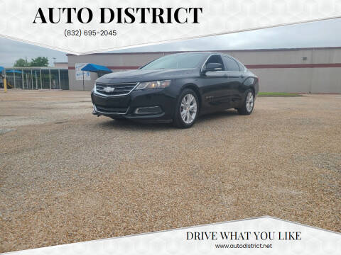 2014 Chevrolet Impala for sale at Auto District in Baytown TX