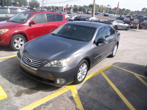 2012 Lexus ES 350 for sale at ORANGE PARK AUTO in Jacksonville FL